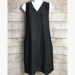 Banana Republic Simple Black Sheath Dress
